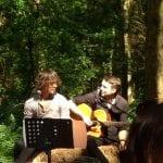 Sarah & David, Wedding, Camp Katur, Kirklington, Bedale